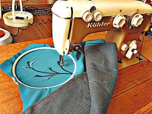 Пальто с вышивкой. Ярмарка Мастеров - ручная работа, handmade.