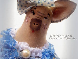 Свинка Горошинка / Piggy Peа. Ярмарка Мастеров - ручная работа, handmade.