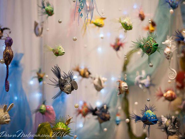 История образа волшебной рыбки | Ярмарка Мастеров - ручная работа, handmade