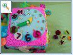 развивающие игрушки, полезное, аппликация из фетра