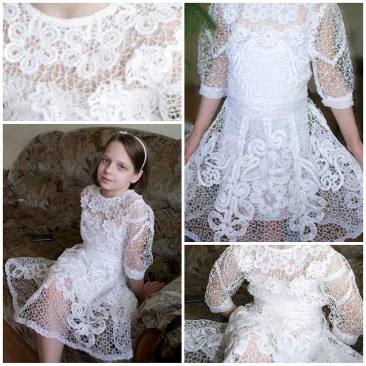 платье, сочетание, кружевной