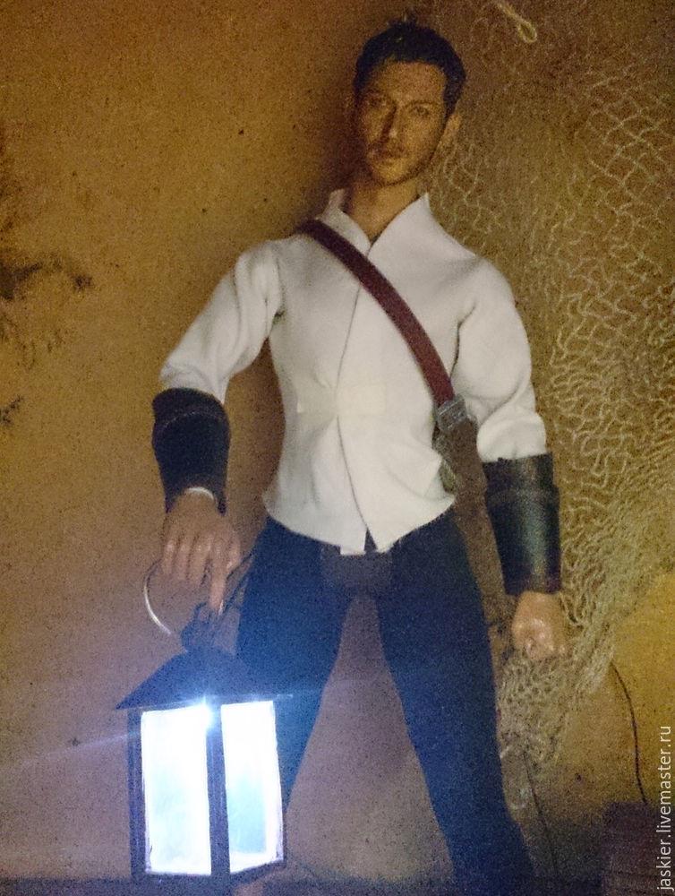 Мастерим для кукольного домика светящийся фонарь в миниатюре, фото № 13