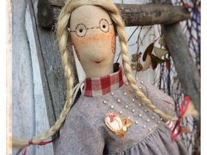 Куклы в очках.. Ярмарка Мастеров - ручная работа, handmade.
