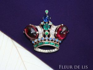 Trifari, Sterling, корона. Ярмарка Мастеров - ручная работа, handmade.