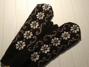 Зимние цветы. Ярмарка Мастеров - ручная работа, handmade.