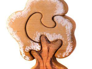 Новинки - пазлы деревца.. Ярмарка Мастеров - ручная работа, handmade.