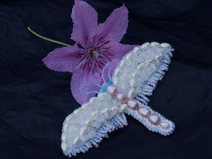 Создаем необычную брошь-бабочку. Ярмарка Мастеров - ручная работа, handmade.