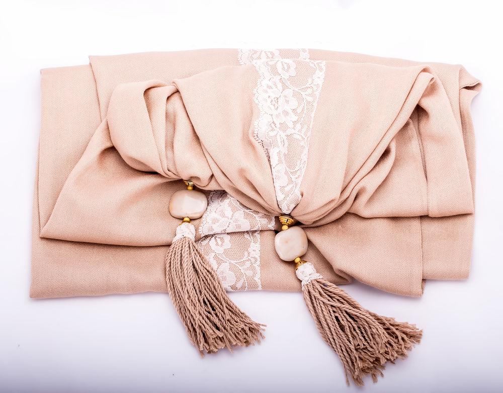 распродажа, шарф с кистями, la almare