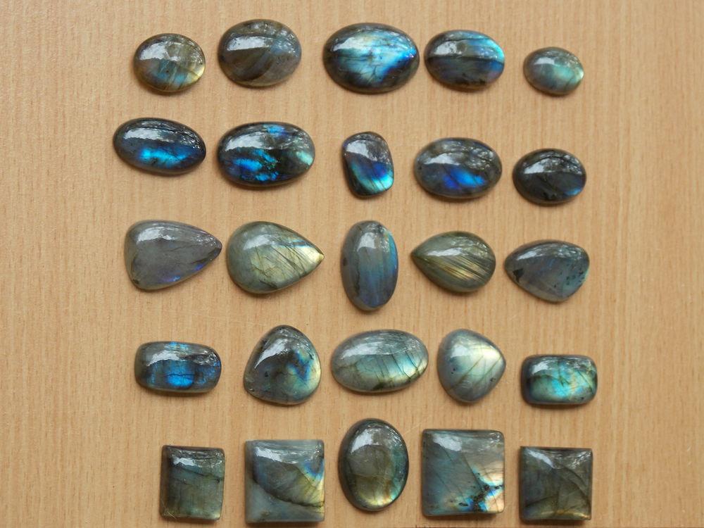 лабрадорит, браслет из камней