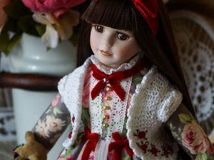 НОВАЯ фарфоровая куколка в магазине!. Ярмарка Мастеров - ручная работа, handmade.
