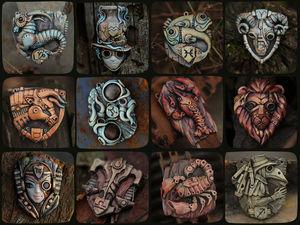 Знаки зодиака от мастерской Bioo-art.. Ярмарка Мастеров - ручная работа, handmade.