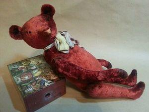Мишка Тедди 35 см 2800 р по Акции. Ярмарка Мастеров - ручная работа, handmade.