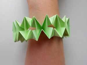 Собираем браслет из бумаги. Ярмарка Мастеров - ручная работа, handmade.