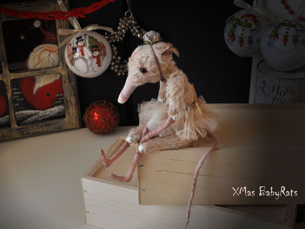 Новогодняя скидка на заказ Крыс   Ярмарка Мастеров - ручная работа, handmade