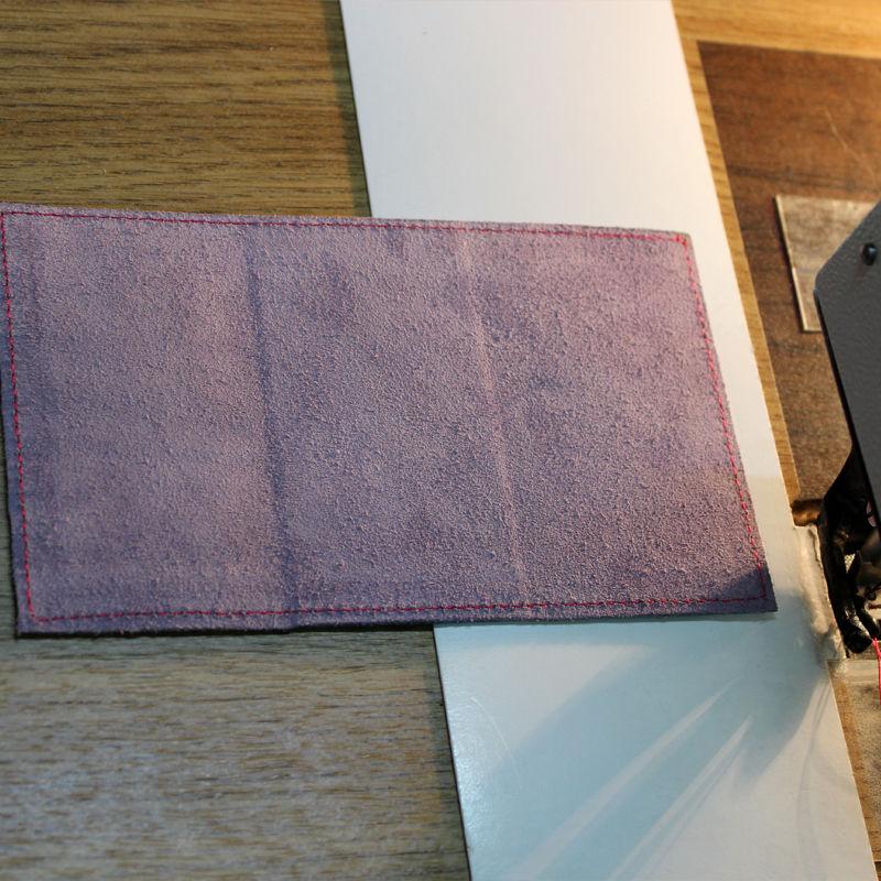 Tutorial on Making a Leather Key Bag, фото № 11