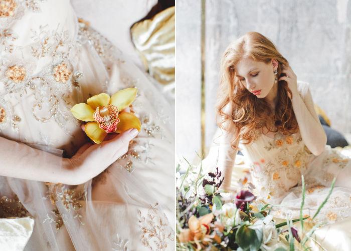 золотой период, свадебная фотосессия
