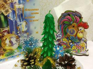 Новогодняя резная свеча своими руками. Ярмарка Мастеров - ручная работа, handmade.