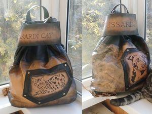 АКЦИЯ!!!Черная пятница)))Кожаные рюкзаки с гравировкой с хорошей скидкой. Ярмарка Мастеров - ручная работа, handmade.