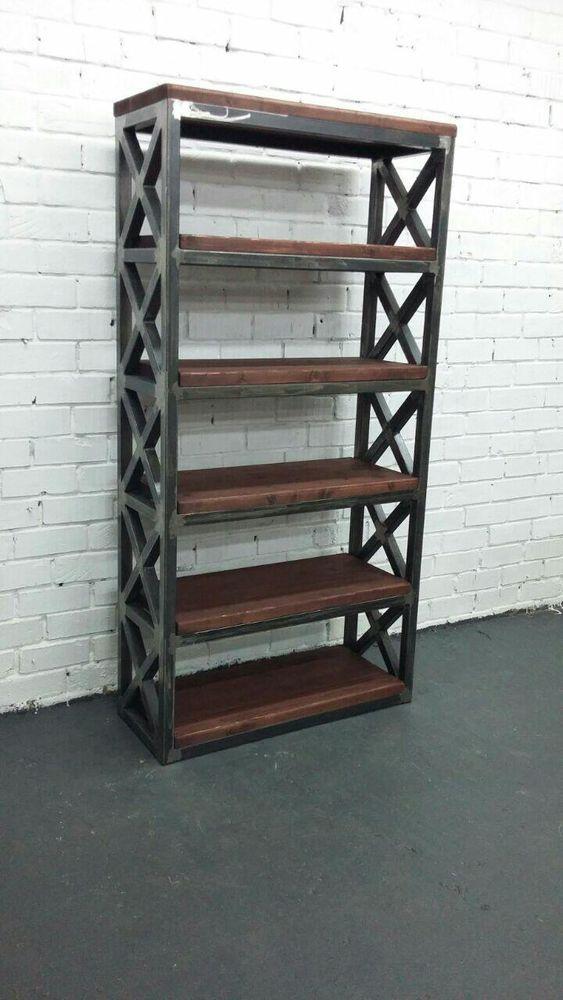 стеллаж, стеллажи лофт, мебель в стиле лофт, производство мебели лофт, купить стеллаж