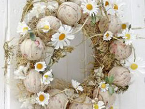 Весна стучится в дом: 20 очаровательных веночков для украшения интерьера. Ярмарка Мастеров - ручная работа, handmade.