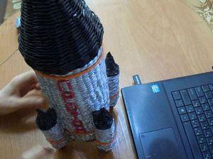Видеоурок по плетению ракеты из бумажных трубочек. Ярмарка Мастеров - ручная работа, handmade.