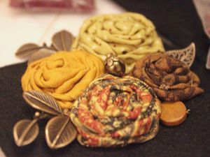 Брошь весеннее бохо | Ярмарка Мастеров - ручная работа, handmade
