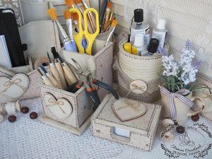 Моя мастерская. Часть 1: канцелярский набор. Ярмарка Мастеров - ручная работа, handmade.