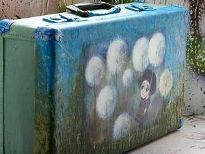 Аукцион на Ретро Чемодан !. Ярмарка Мастеров - ручная работа, handmade.