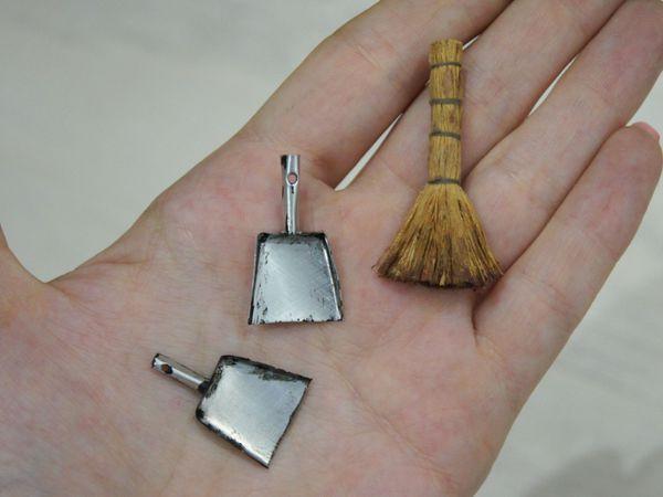 Видеоурок: веник и совок в миниатюре | Ярмарка Мастеров - ручная работа, handmade