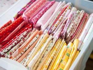 Порядок в тканях для рукоделия по методу Marie Kondo. Ярмарка Мастеров - ручная работа, handmade.
