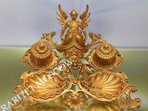 Раритетище Чернильница бронза Zimmermann 1. Ярмарка Мастеров - ручная работа, handmade.