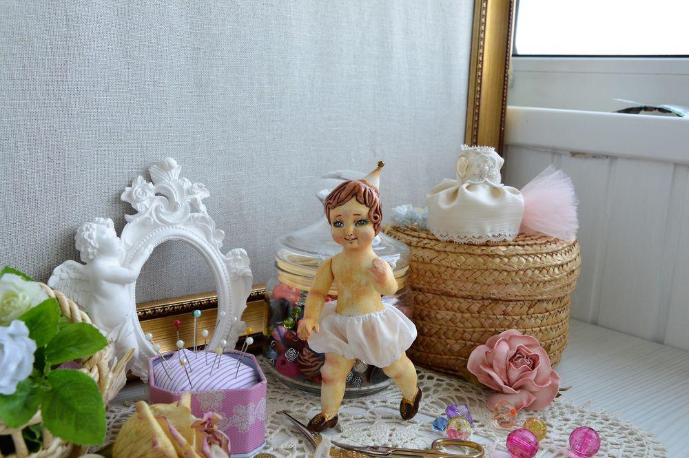миниатюрная кукла, кукла из ладолл
