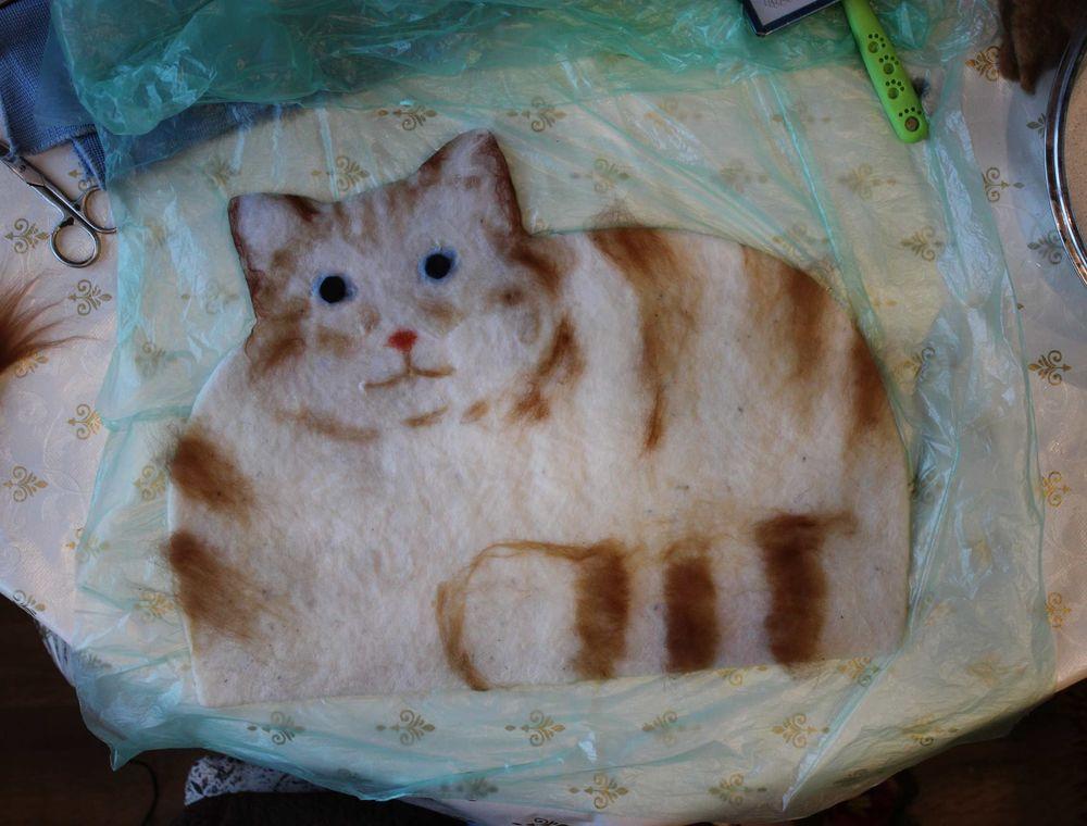 кот, кухонный аксессуар