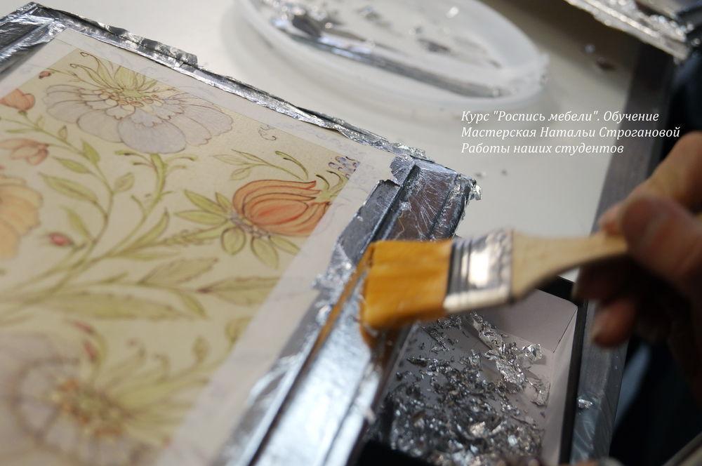 курсы росписи мебели