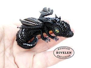 Новая коллекционная брошь. Пополнение в армии драконов. Ярмарка Мастеров - ручная работа, handmade.