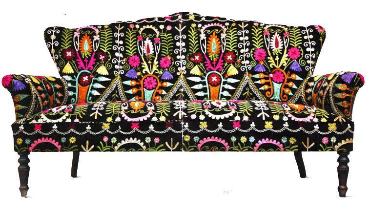 этнический текстиль, мягкая мебель