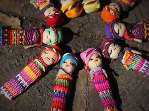 Маленькие, да удаленькие! Куколки-помощницы из Гватемалы. Ярмарка Мастеров - ручная работа, handmade.