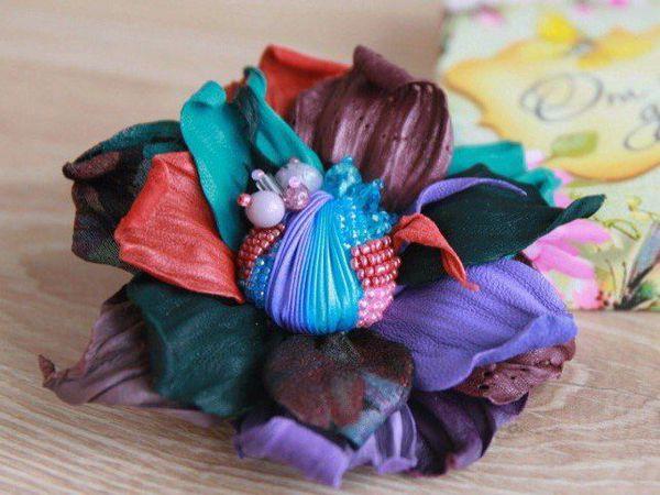 Цветы из кожи. Мастер-класс в LeatherSchool | Ярмарка Мастеров - ручная работа, handmade