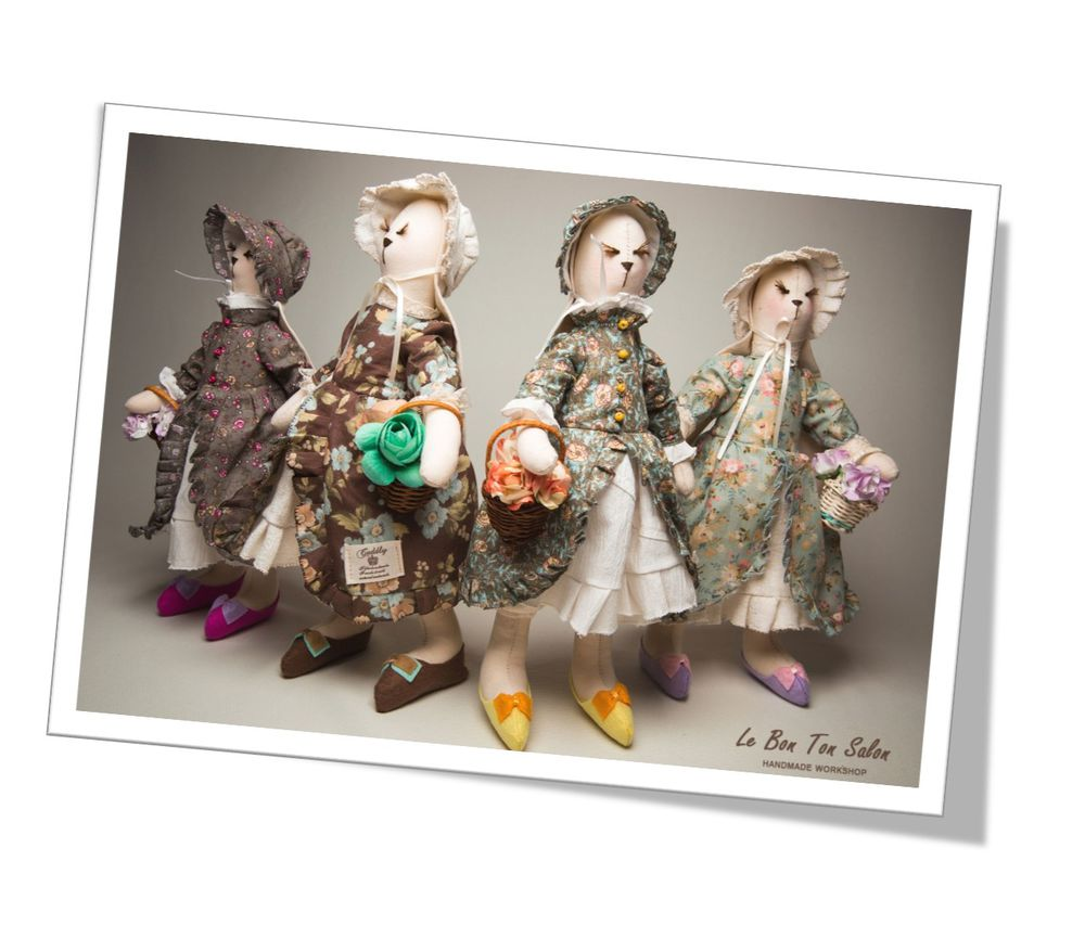 тильда, кукла ручной работы, тильда зайка, тильды, тильда мастер-класс, кукла тильда, lebontonsalon, подарки к новому году