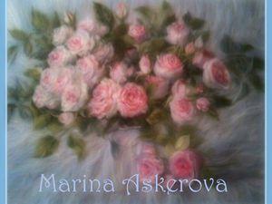 Мастер-класс по живописи шерстью в Москве | Ярмарка Мастеров - ручная работа, handmade