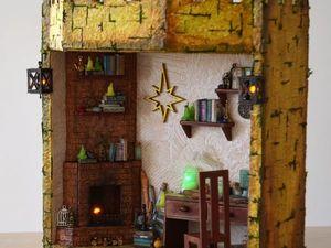 """Самые необычные мамины сокровища + светильник """"Комната волшебника"""". Ярмарка Мастеров - ручная работа, handmade."""