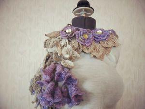 Распродажа!! Оригинальные шарфики!!. Ярмарка Мастеров - ручная работа, handmade.