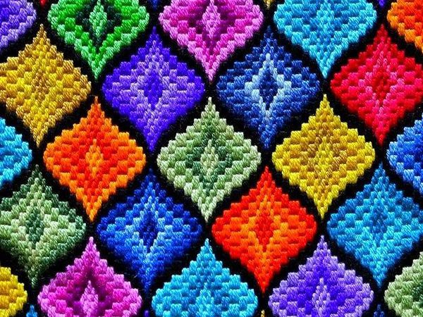 Bargello. Are You Sure This Is the Florentine Embroidery?! Part one | Livemaster - handmade