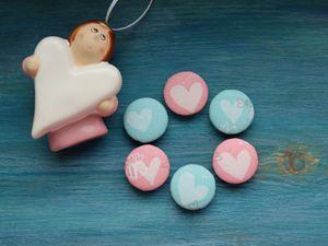 Акция к 8 марта! Набор пуговиц от 0 рублей | Ярмарка Мастеров - ручная работа, handmade