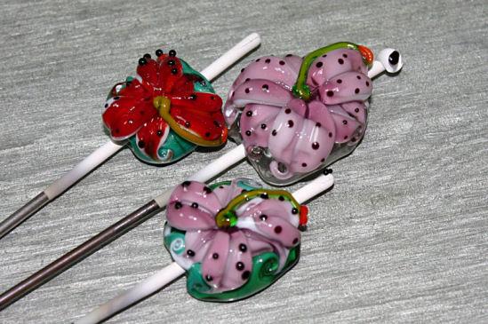 цветы, бранзулетка