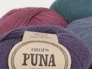 Новые цвета DROPS Puna доступны для заказа!   Ярмарка Мастеров - ручная работа, handmade
