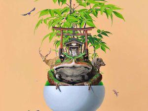 Релакс и сюр в работах японского художника Takumi Kama   Ярмарка Мастеров - ручная работа, handmade
