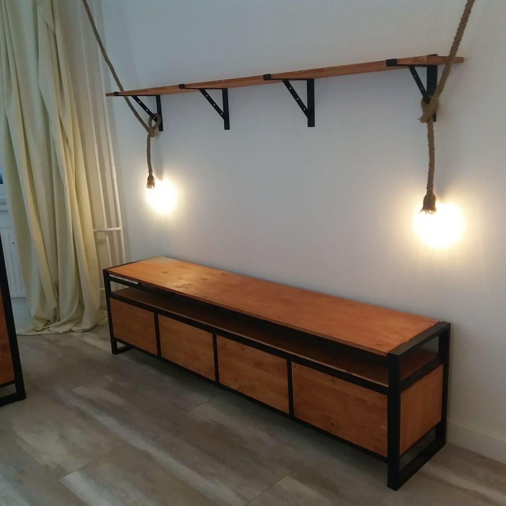 стол в стиле лофт, мебель лофт москва, оригинальная мебль, решения в стиле лофт, дизайн интерьера, полки в стиле лофт, кухня лофт