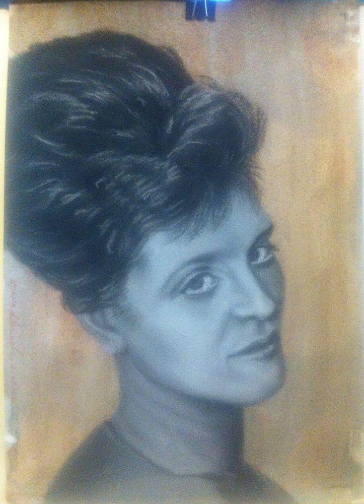 акварель, портрет пастелью, советы по пастели