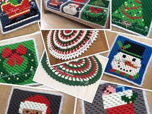 Принимаю заявки на новогодние ковры и коврики. Ярмарка Мастеров - ручная работа, handmade.